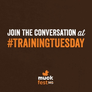 It's Training Tuesday.