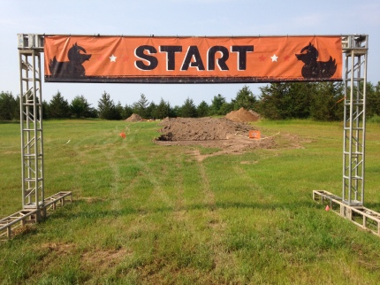 Preview of the starting line at MuckFest MS Twin Cities!