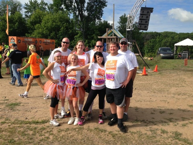 Team Victory Group Picture at MuckFest MS Twin Cities 2013
