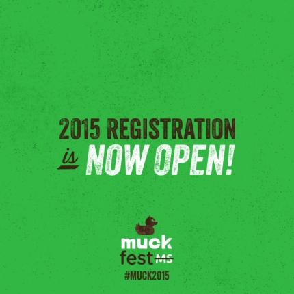 2015 MuckFest MS Schedule
