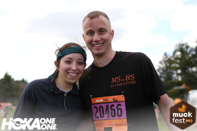 After MuckFest MS Boston photo.