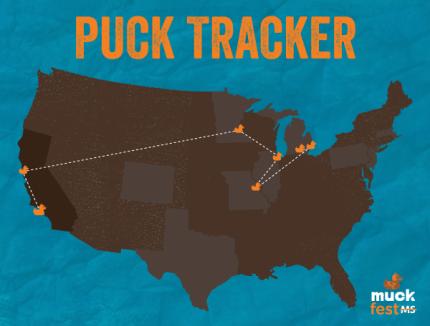 6_MuckFestMS_Puck_Muck_Duck_Tracker_San_Francisco_SF_to_Los_Angeles_LA